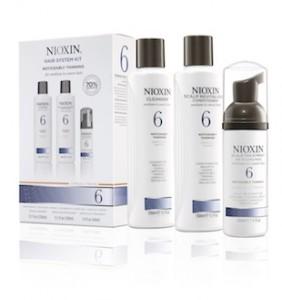 La gamme Dioxin 6 pour les cheveux très clairsemés (Procter & Gamble)