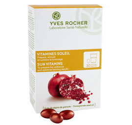 Les capsules solaires Yves Rocher