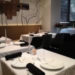 Salle réaménagée et plus lumineuse du restaurant