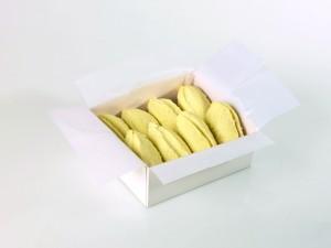 Présentées dans des boîtes à gâteaux les quenelles fraîches de Giraudet