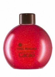 Cacao framboise, un gel douche pailleté pour les fêtes de fin d'année d'Yves Rocher