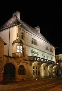 Luxueil : la maison du cardinal  Jouffroy (15 ème)