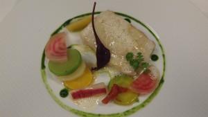 Cabillaud et légumes printaniers