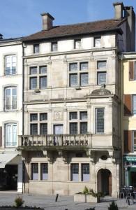 Seul bâtiment Renaissance : la maison dite du bailli