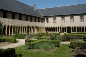 Le cloître des Récollets à Metz