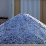 Le calcin est du verre recyclé