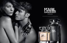 Le duo très charnel de Karl Lagerfeld