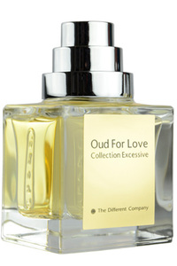 Oud For Love, un des flacons de Collection Excessive de The Different Company