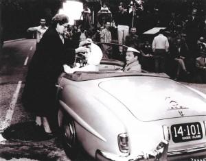 Conduire la même voiture que Grace Kelly et Franck Sinatra