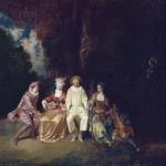 Le fameux Pierrot de Watteau (Madrid)
