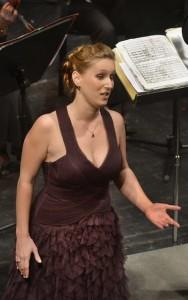 La soprano Céline Mellon