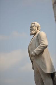 Une statue de Jean Jaurès