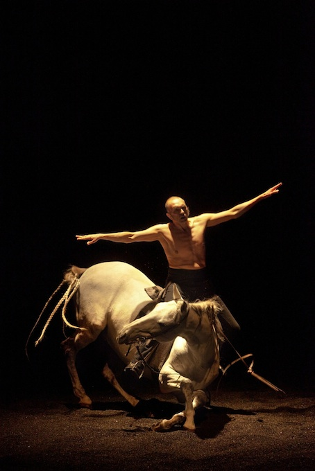 Le reniement de Pïerre et le cheval qui tombe pour la 3 ème fois