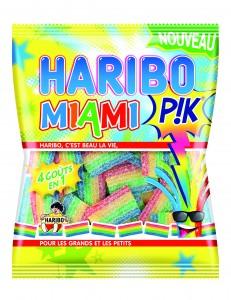 Les Haribo Miami en 4 couleurs