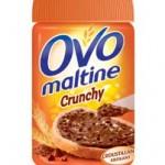Cà crunche chez Ovomaltine