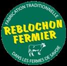 """Le logo """"reblochon fermier"""" que vous devez retrouver sur la croûte du fromage"""