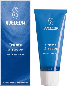 Un leader du marché, Weleda et son produit emblématique, la crème à raser