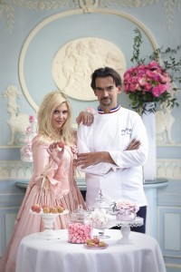 Elodie Martins et le pâtissier Guy Krenzer