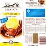 Fraîcheur citronnée chez Lindt