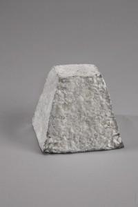 Une forme de pyramide tronquée