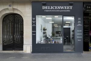 La boutique Delicesweet à Paris