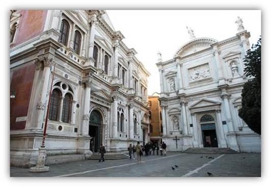 la Scuola de Venise restauré par Jaeger Lecoultre