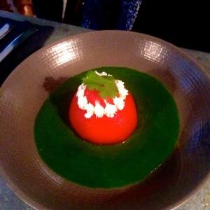 la religieuse tomate mozarella