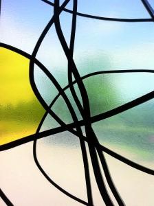 Un vitrail de Christopher Wool