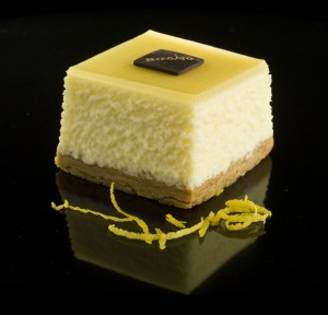 Cheese cake au yuzu
