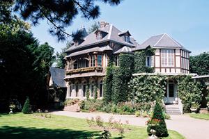 """La maison du """"père"""" d'Arsène Lupin, Maurice Leblanc"""
