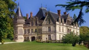 Le château en lui même devenu un hôtel aujourd'hui