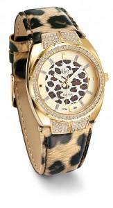 Même la montre s'affiche léopard !