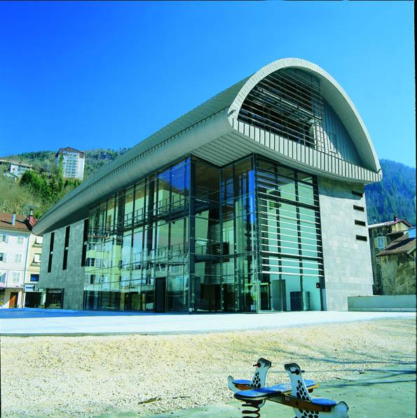 Le bâti très moderne du musée