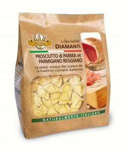 Pâtes farcies au Parme et Parmigiano Reggiano