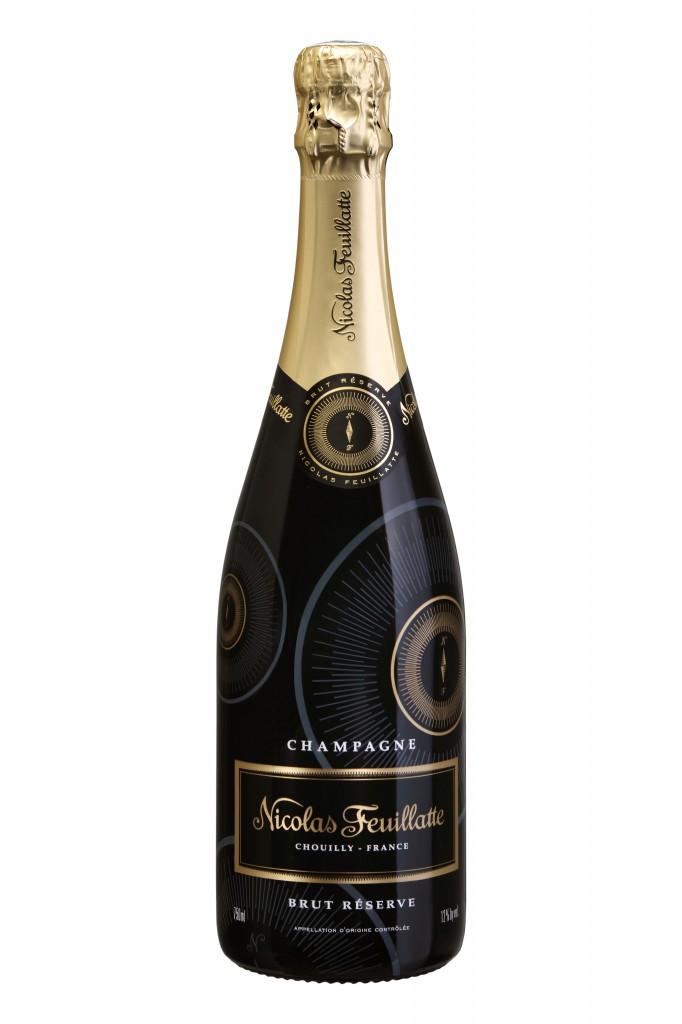 Le brut de la maison de  champagne Nicolas Feuillatte