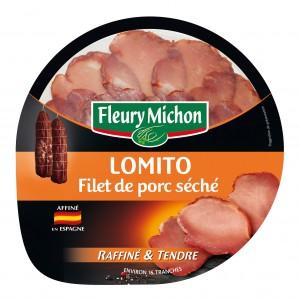 A côté de l'iberico, le lomito, du porc séché en mince filet
