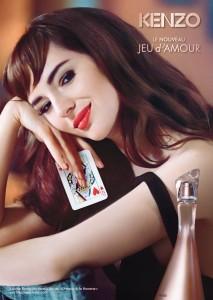 La campagne pub de Jeu d'Amour de Kenzo