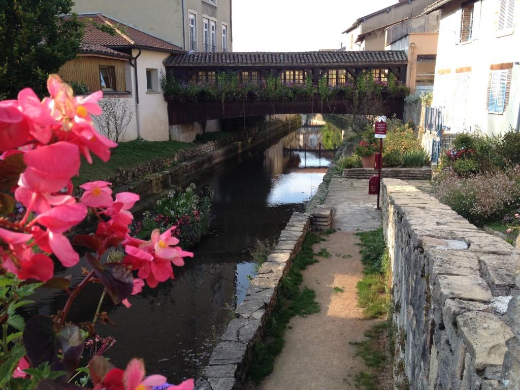 Un des ponts de Châtillon sur Chalaronne