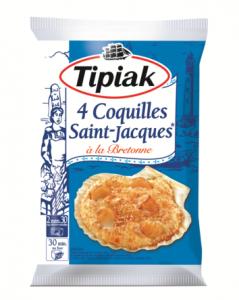 Les St Jacques à la bretonne