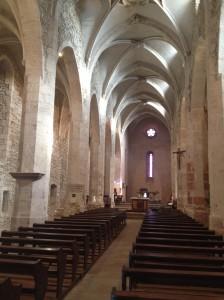 Une grande pureté et austérité pour l'église de Pérouges