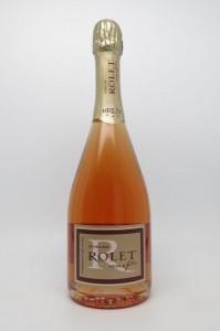 Le Domaine Rolet propose aussi du Crémant Rosé du Jura