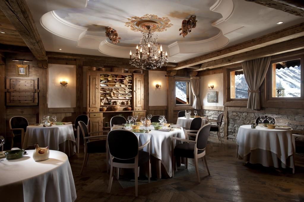 La salle à manger d'inspiration baroque