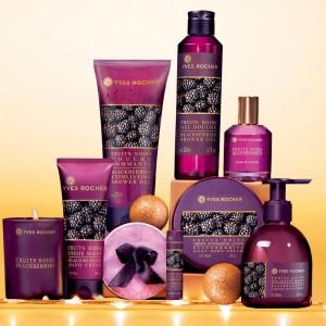 Le corps parfumé aux fruits noirs par la gamme Yves Rocher