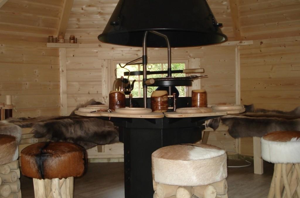 Intérieur du kota grill