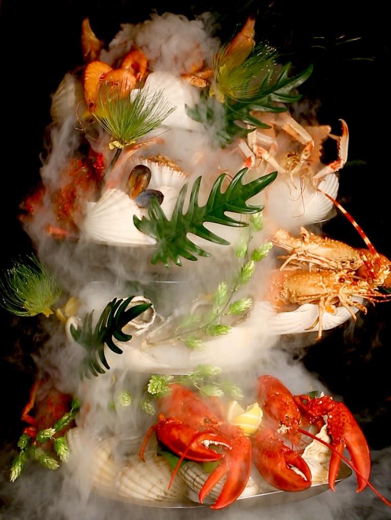 Plateau de fruits de mer où l'esthétisme s'associe à qualité et fraîcheur