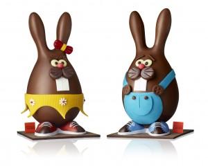 Léa et Léo, les 2 lapins de Larher