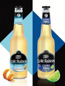 2 nouveautés de Loïc Raison dont le cidre aromatisé vodka citron
