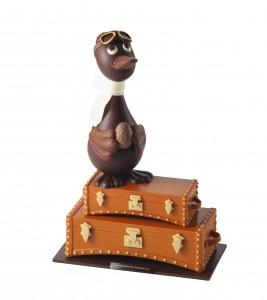 L'oie sur valise Moynat de La Maison du Chocolat