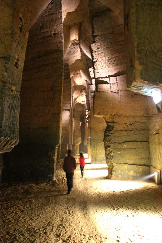 Des caves cathédrale