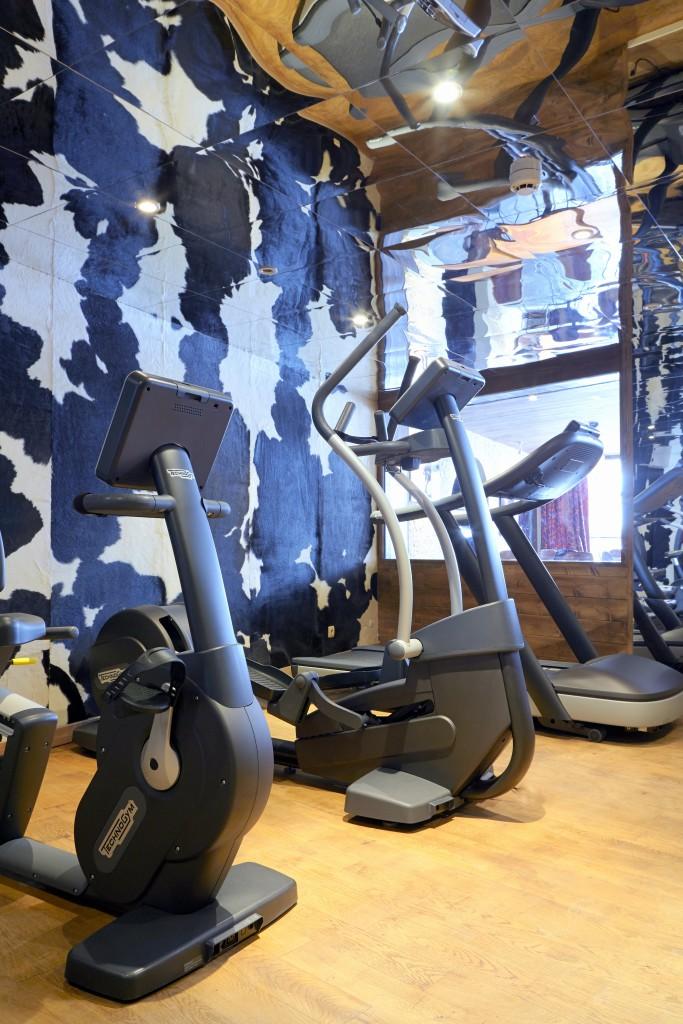 Des peaux de vache pour la salle de gym